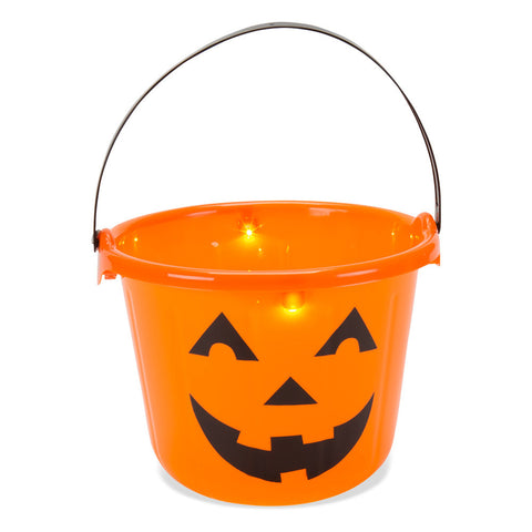 Light Up Halloween Pail