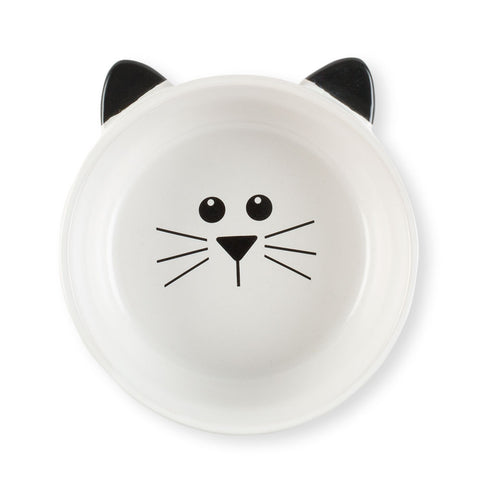 Black & White Pet Bowls - Chinaberry Books, Toys & Treasures - 1