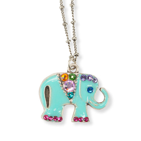 Royal Elephant Necklace - Chinaberry Books, Toys & Treasures - 1