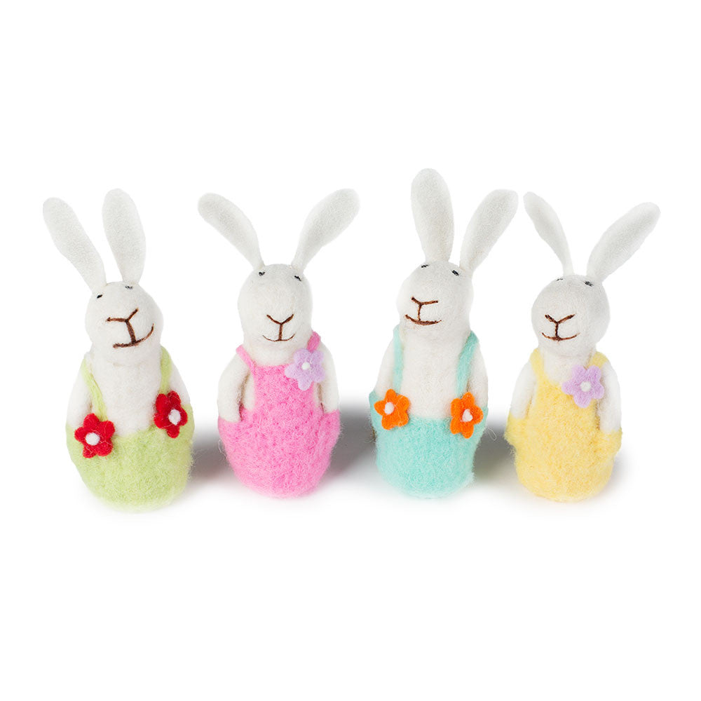 Felted bunny family chinaberry gifts to delight the whole family felted bunny family chinaberry negle Choice Image