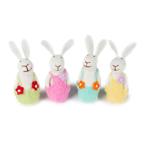 Felted Bunny Family - Chinaberry