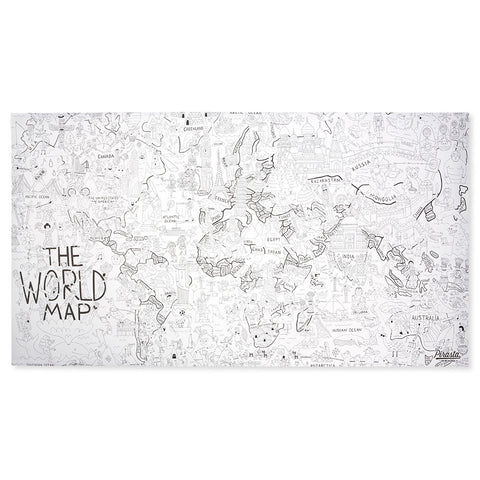 Color Your World Giant Wall Poster - Chinaberry Books, Toys & Treasures - 1