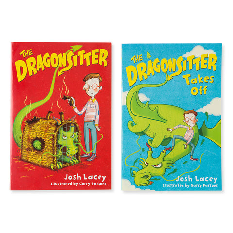 DragonSitter- Set of 2 - Chinaberry Books, Toys & Treasures - 1