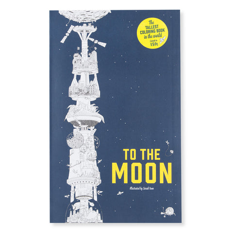 To the Moon Coloring Book - Chinaberry Books, Toys & Treasures - 1
