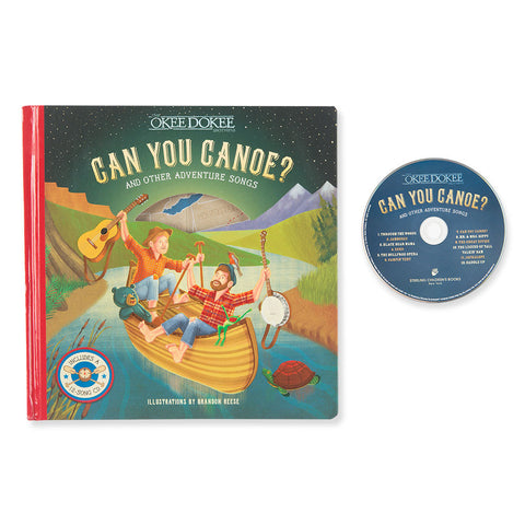 Can You Canoe? Songbook & CD - Chinaberry Books, Toys & Treasures - 1