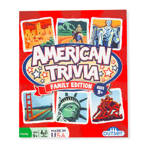 American Trivia Travel Game - Chinaberry Books, Toys & Treasures - 1