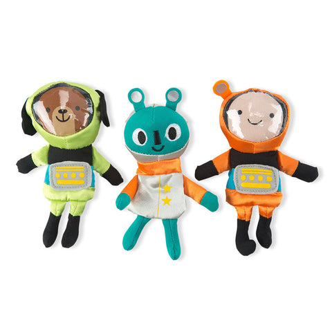 Moonwalkers Finger Puppets-Set of 3 - Chinaberry Books, Toys & Treasures