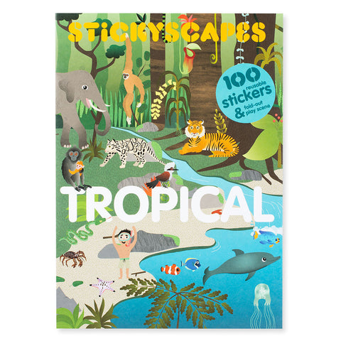 Stickyscapes Tropical - Chinaberry Books, Toys & Treasures - 1