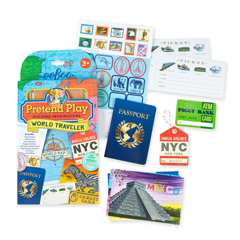 World Traveler Pretend Play Set - Chinaberry Books, Toys & Treasures - 1