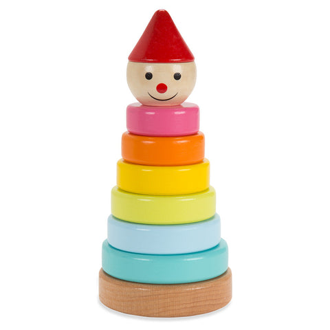Funny Clown Stacking Toy - Chinaberry