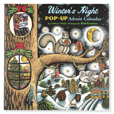 Winter's Night Pop-Up Advent Calendar - Chinaberry