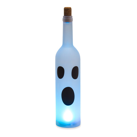 Halloween Bottle Light Ghost