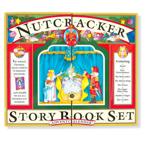 Nutcracker Storybook Advent Calendar - Front - Chinaberry