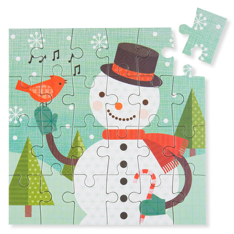 Mini Holiday Puzzle - Frosty - Chinaberry
