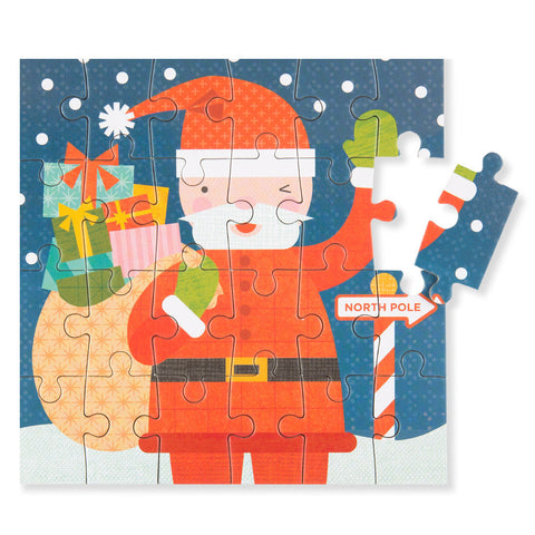 Mini Holiday Puzzle - Santa - Chinaberry