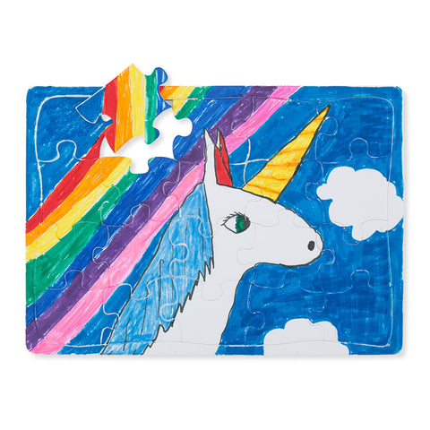 Color in Keepsake Puzzles