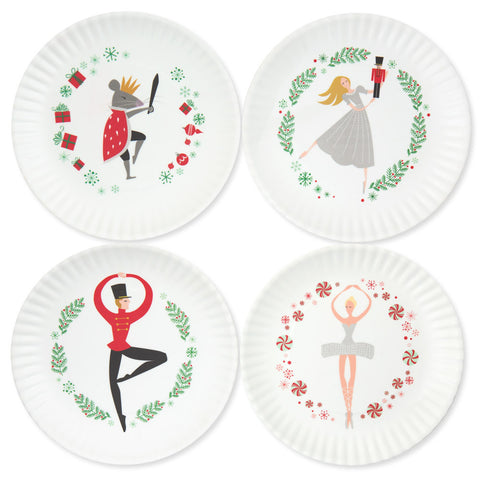 Nutcracker Plates Set of 4 - Chinaberry