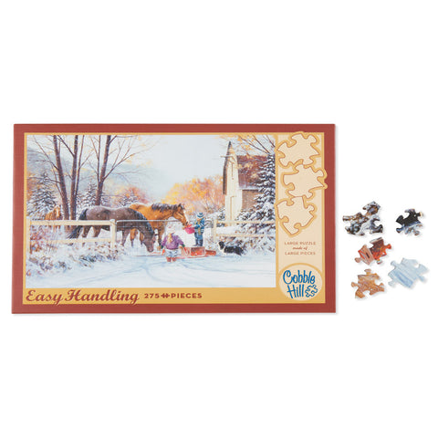 First Snow - 275 pc Easy Handling Puzzle - Chinaberry