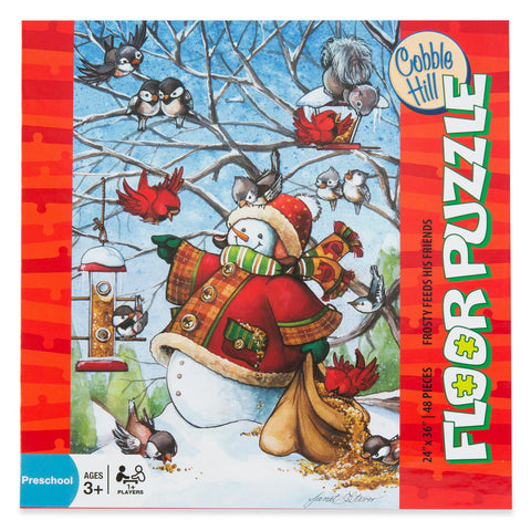 Frosty Feeds His Friends - Floor Puzzle - Chinaberry