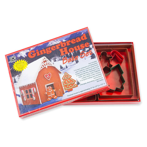 Gingerbread House Bake Set - Chinaberry