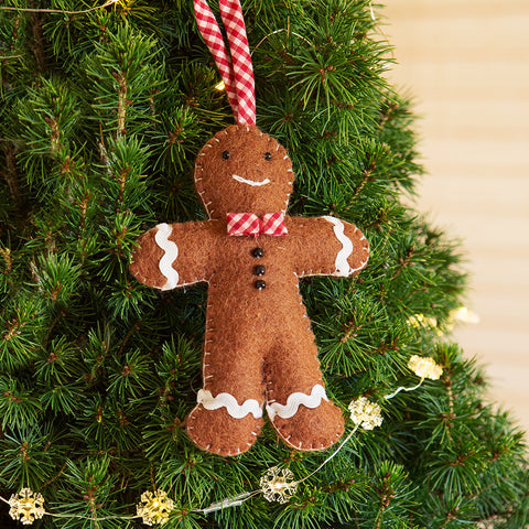Gingerbread Man Ornament - Chinaberry