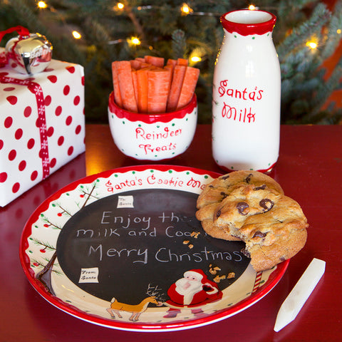 Santa's Message Plate Set - Chinaberry
