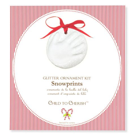 Keepsake Snowprint Ornament Kit - Chinaberry