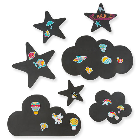 Chalkboard Magnetic Wall Decals