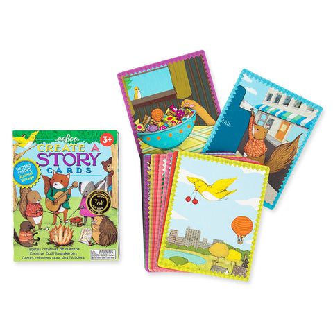 Create a Story Cards- Animal Village