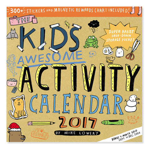 Kids Awesome Activity Calendar