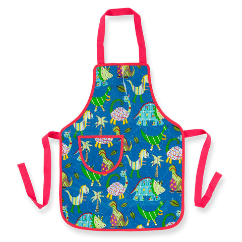 Child's Apron- Dinosaur