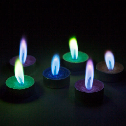 Colorflame Tealights