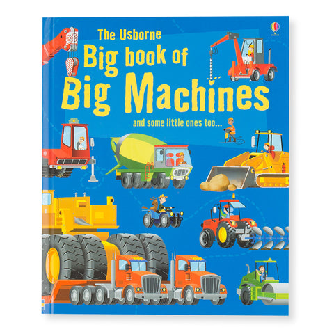 Big Book of Big Machines- Front- Chinaberry