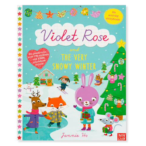 Violet Rose Holiday Activity Book - Front - Chinaberry