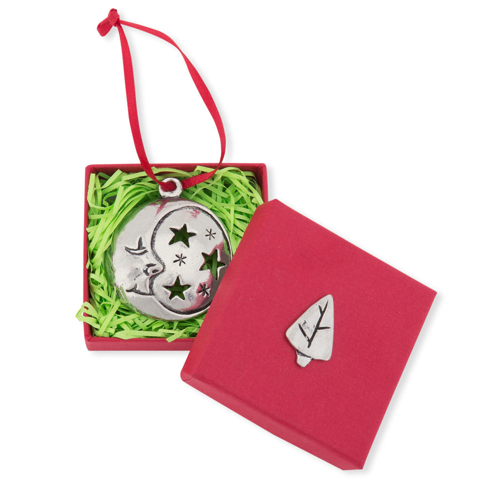 Christmas ornament catalogs -  Pewter Christmas Ornament Moon Chinaberry Catalog 3