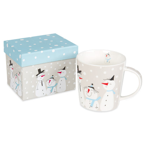 Smiling Snowmen Mug - Chinaberry