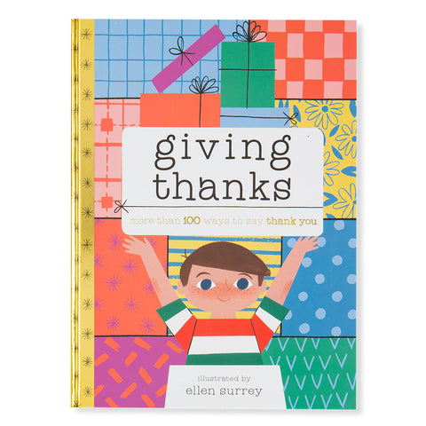 Giving Thanks More Than 100 Ways to Say Thank You - Front - Chinaberry