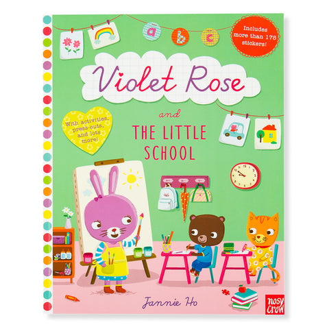 Violet Rose and the Little School - Front - Chinaberry