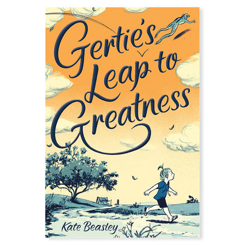 Gertie's Leap to Greatness - Front - Chinaberry