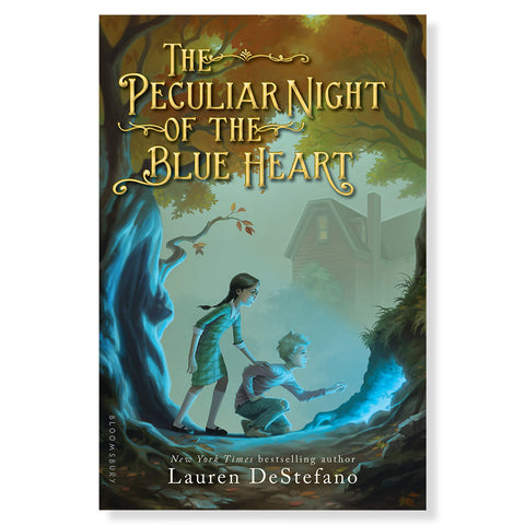The Peculiar Night of the Blue Heart - Front - Chinaberry