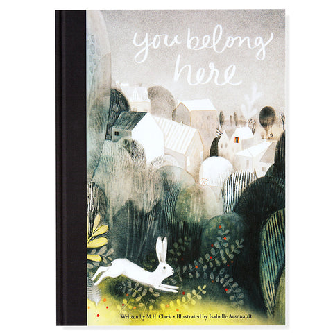 You Belong Here- Front- Chinaberry