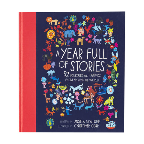 A Year Full of Stories- Front- Chinaberry