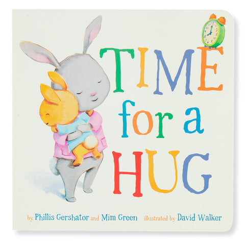 Quality Time Board Books - Time for a Hug - Front - Chinaberry