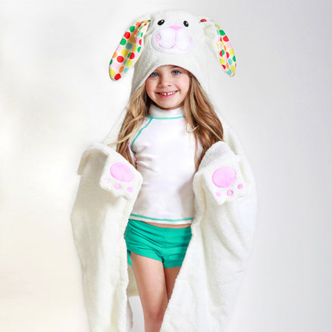 Bunny Bath Towel - Chinaberry