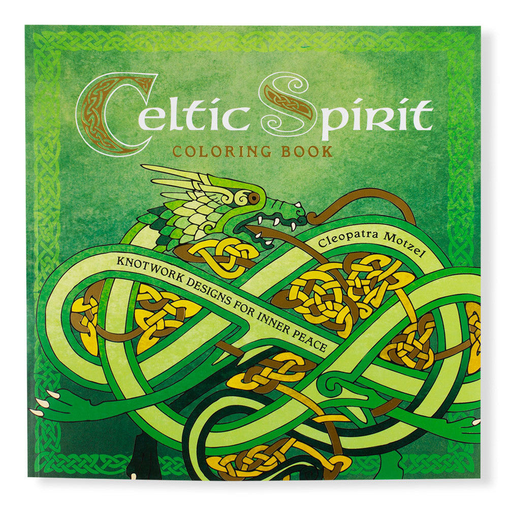 celtic spirit coloring book front chinaberry - Celtic Coloring Book
