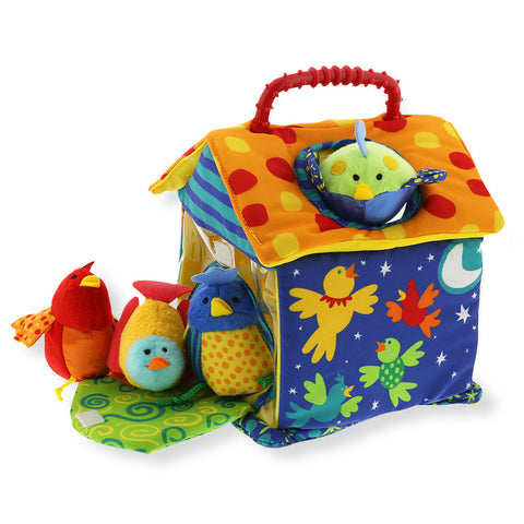Peekaboo Birdhouse - Chinaberry