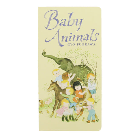 Baby Animals Board Book- Front- Chinaberry