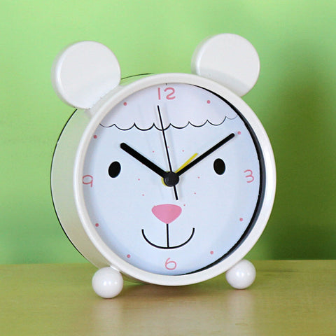 Bedside Buddy Alarm Clock - Lamb- Chinaberry
