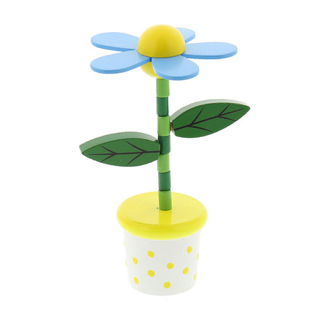 Flower Push Puppet- Chinaberry