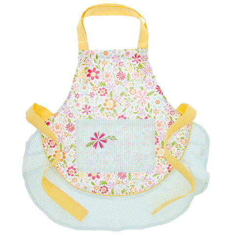 Child's Apron - Flower Party - Chinaberry